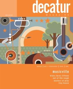 "Decatur Magazine - June-July 2015 ""Musicville"""