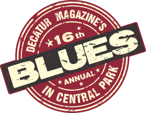 Decatur Magazine Blues in Central Park 2016