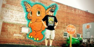 Ron English Mural - Decatur, Illinois
