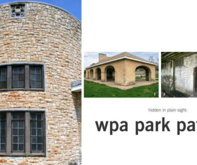 WPA Pavilions in Decatur, Illinois