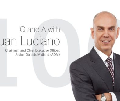 Q and A with Juan Luciano