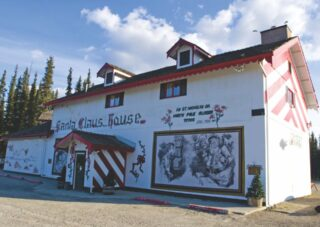 Here & There - North Pole, Alaska